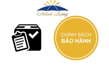 Chính sách bảo hành sản phẩm dù quảng cáo Minh Long