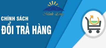 Chính sách đổi trả dù Minh Long