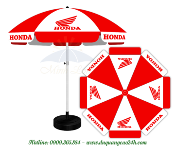 Dù quảng cáo Honda