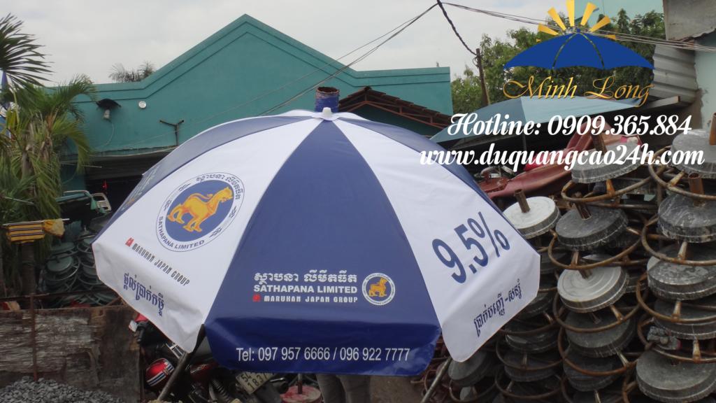 Xưởng dù quảng cáo tại Thành Phố Tuy Hoà